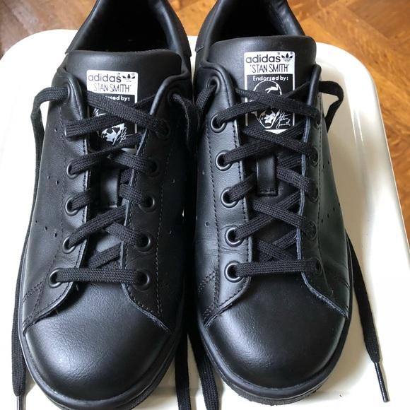 adidas Shoes | Stan Smith Black Size 5